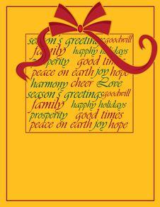 Free Christmas Design Royalty Free Stock Photo - 21454715