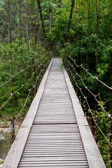 Free Wooden Bridge Royalty Free Stock Photos - 21458638