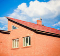 Free Beautiful Stork Stand On Roof Stock Photos - 21466753