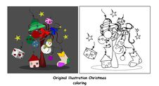 Free Christmas Color Royalty Free Stock Images - 21460979