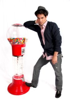 Free Candy Man Stock Photo - 21463100