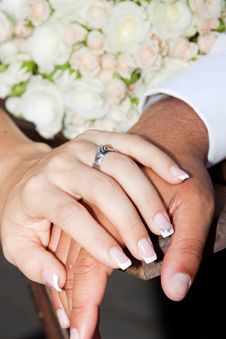 Free Hands And Rings Stock Image - 21468431