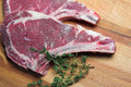 Free Two Raw Steaks Royalty Free Stock Image - 21470816