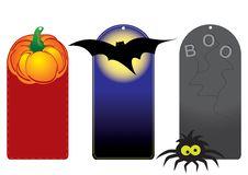 Free Set Of Funny Halloween Tags Stock Photos - 21473023