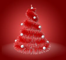 Free Christmas Tree Royalty Free Stock Photos - 21473428