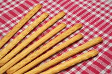 Breadsticks Stock Photos