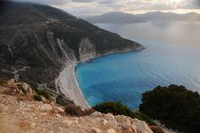 Myrtos Bay Royalty Free Stock Images