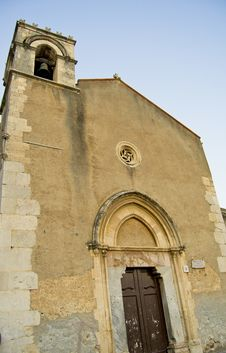 Free Church In Taormina Royalty Free Stock Photography - 21474827