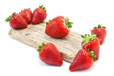 Free Red Strawberries Royalty Free Stock Photography - 21476087
