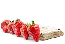 Free Red Strawberries Royalty Free Stock Photography - 21476237