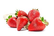 Free Red Strawberries Royalty Free Stock Image - 21476296