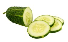 Cucumber Sliced Royalty Free Stock Photography