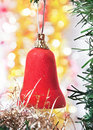 Free Red Bell As A Decoration Royalty Free Stock Images - 21489649