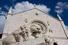 Free Basilica Of Saint Benedict Royalty Free Stock Image - 21481746