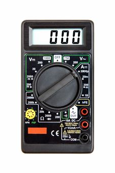 Free Digital Multimeter Royalty Free Stock Photo - 21483805