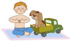 Free Child S Gymnastics Stock Photography - 21486722