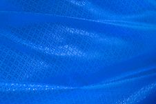 Free Wave Of Blue Textile Royalty Free Stock Photo - 21487955