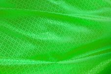 Free Wave Of Green Textile Royalty Free Stock Photo - 21489795