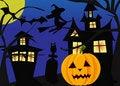 Free Halloween Scene Stock Image - 21496961
