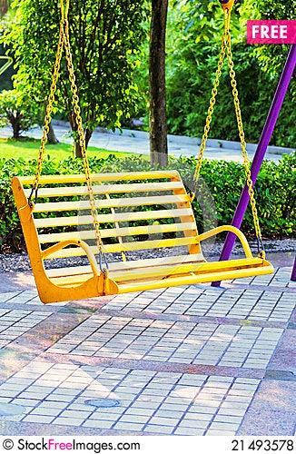 Free Swing Royalty Free Stock Photos - 21493578