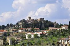 Free Tuscan Village, Italy Stock Image - 21491491