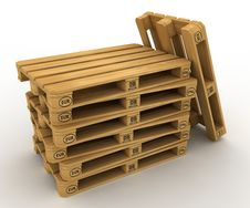 Free Pallets Royalty Free Stock Photo - 21492385