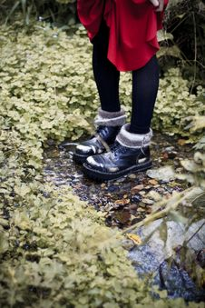 Free Cool Boots Royalty Free Stock Photos - 21495938