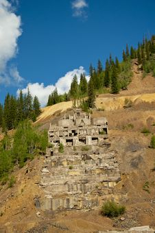 Free Structure Of An Old Working Mine Stock Photography - 21496502