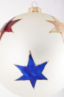 Free Chritsmas Ball Close-up Royalty Free Stock Photo - 21496815