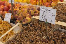 Free Mushrooms With Price Tags Stock Photo - 21499620