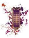 Free Floral Grunge Frame Series Royalty Free Stock Image - 2154676