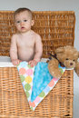 Free Baby And Teddy Stock Image - 2157281