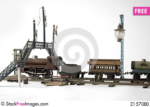 Free Train To Play With Stock Photo - 2157080
