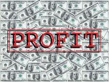 Free Hundred Dollar Notes Design Royalty Free Stock Image - 2151486