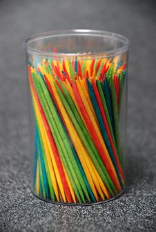 Free Colorful Toothpicks Stock Image - 2153451