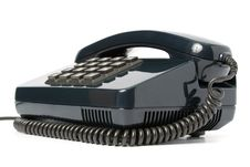 Free Telephone Set Of Black Color Stock Photo - 2153540