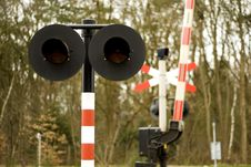 Free Railway-crossing Royalty Free Stock Image - 2153996