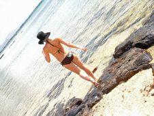 Free Bikini Water Royalty Free Stock Images - 2154379