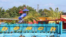 Beach Playground Stock Photos