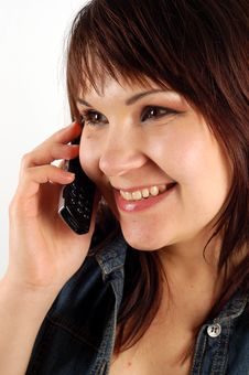 Free Phone Woman 14 Stock Images - 2155264