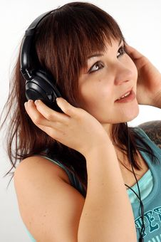 Free Enjoying Music 12 Royalty Free Stock Image - 2155536