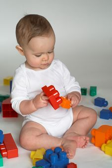 Free Baby Blocks Stock Images - 2155694