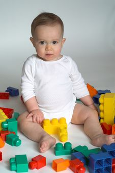 Free Baby Blocks Stock Photography - 2155702