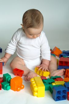 Free Baby Blocks Royalty Free Stock Photo - 2155735