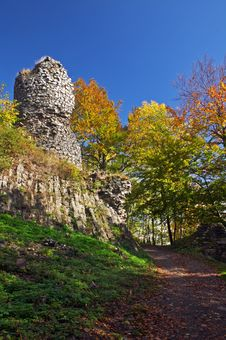 Free Ruins Of Castle Stock Photography - 2157092