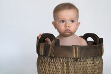 Free Basket Baby Royalty Free Stock Images - 2157129