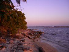 Island Twilight Stock Images