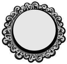 Free Circles Shaped Logo Black Royalty Free Stock Images - 2158509