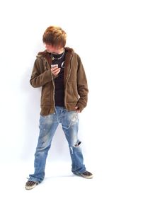 Free Teen Boy With MP3 Player Stock Photo - 2158870