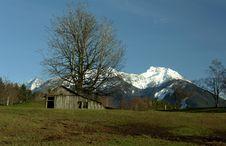 Free Cascade Mountains Royalty Free Stock Photo - 2159155
